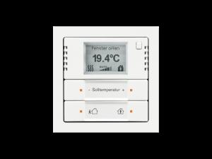 کلید هوشمند ترموستاتیک برای ساختمان های هوشمندو برای کنترل روشنایی و سرمایش گرمایش.خانه هوشمند اصفهان