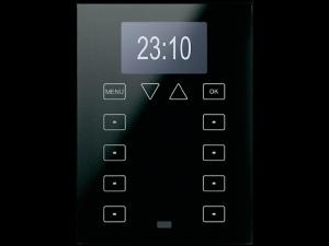 کلید هوشمند ترموستاتیک برای ساختمان هوشمند برای کنترل روشنایی و سرمایش گرمایش