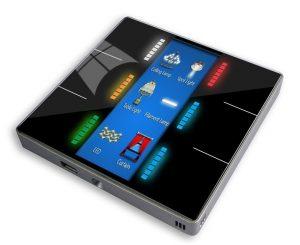 کلید هوشمند ترموستاتیک برای کنترل روشنایی و سرمایش و گرمایش