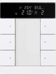کلید هوشمند ترموستاتیک برای کنترل روشنایی و سرمایش گرمایش