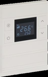 کلید هوشمند ترموستاتیک برای کترل سرمایش گرمایش و روشنایی